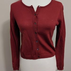 Ann Taylor Sweater Cardigan Small Button Up